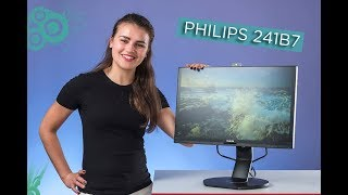 skype на ножке или обзор монитора Philips Brilliance 241B7