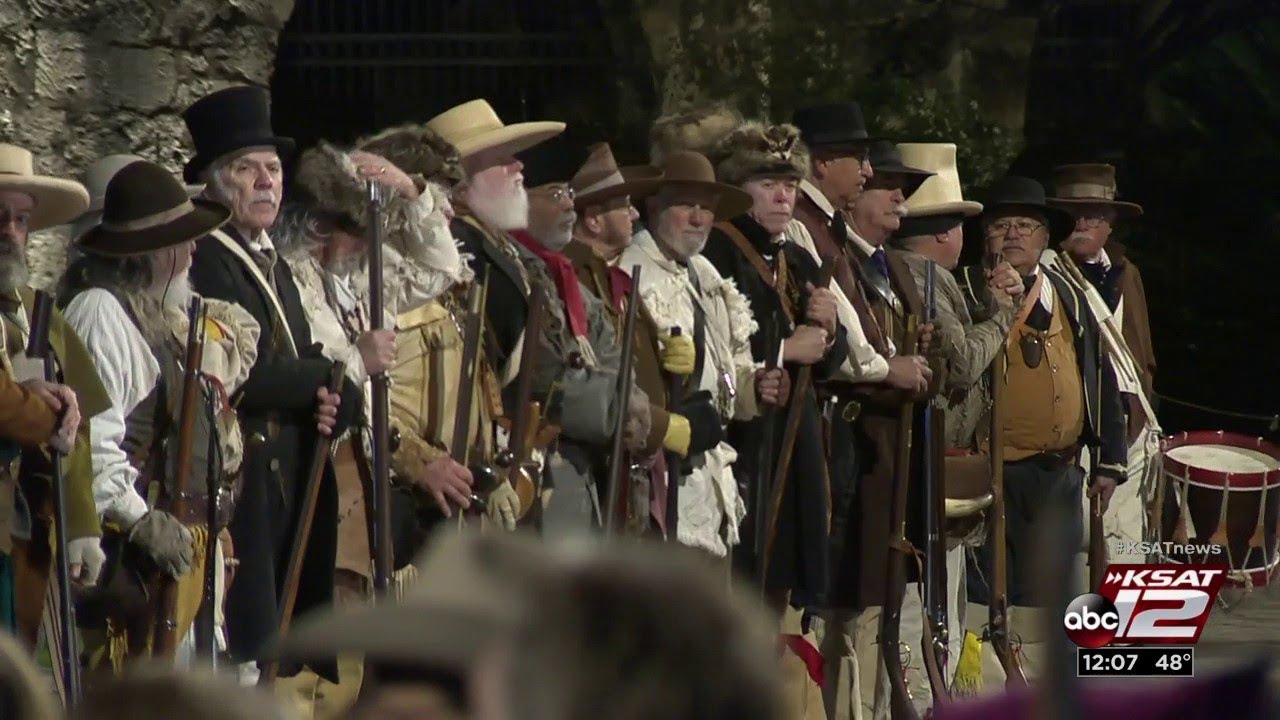 Download Alamo defenders honored during predawn re-enactment