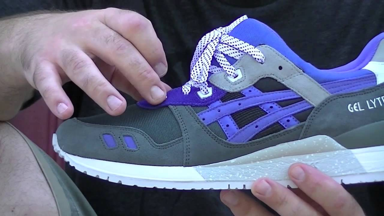 asics gel lyte iii alvin purple reissue