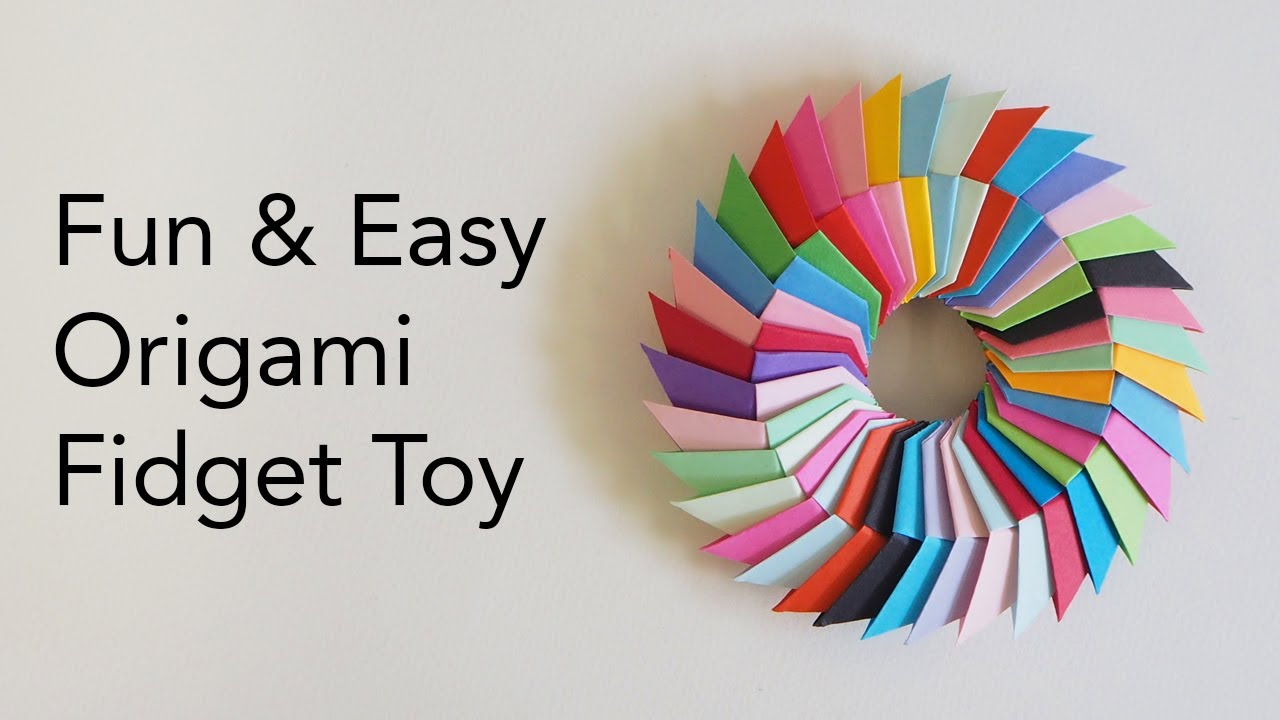 Origami Toys - How to make an Origami Three Point Star - YouTube   720x1280