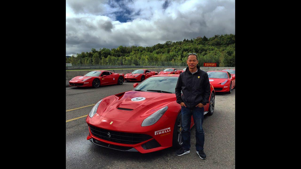 2015 Ferrari F12 Berlinetta At Circuit Mont Tremblant