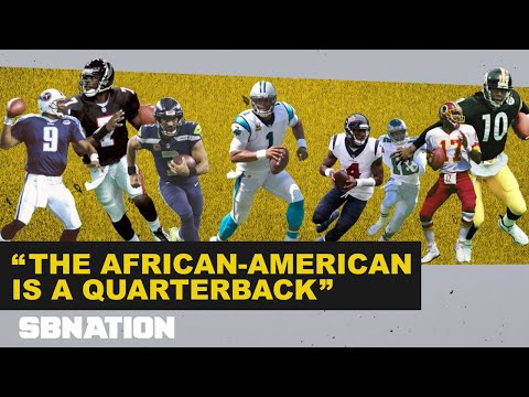 What being a black quarterback in the NFL means