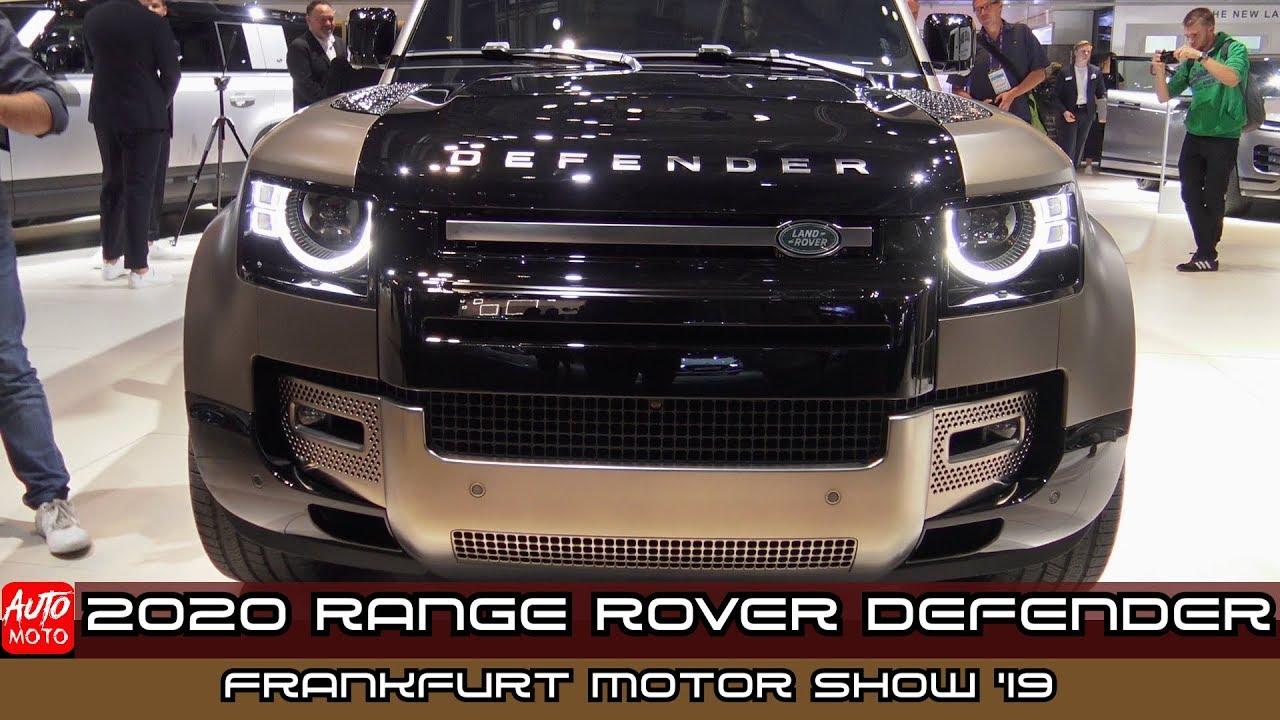 Frankfurt Auto Show 2020.2020 Land Rover Defender Exterior And Interior Frankfurt Motor Show 2019