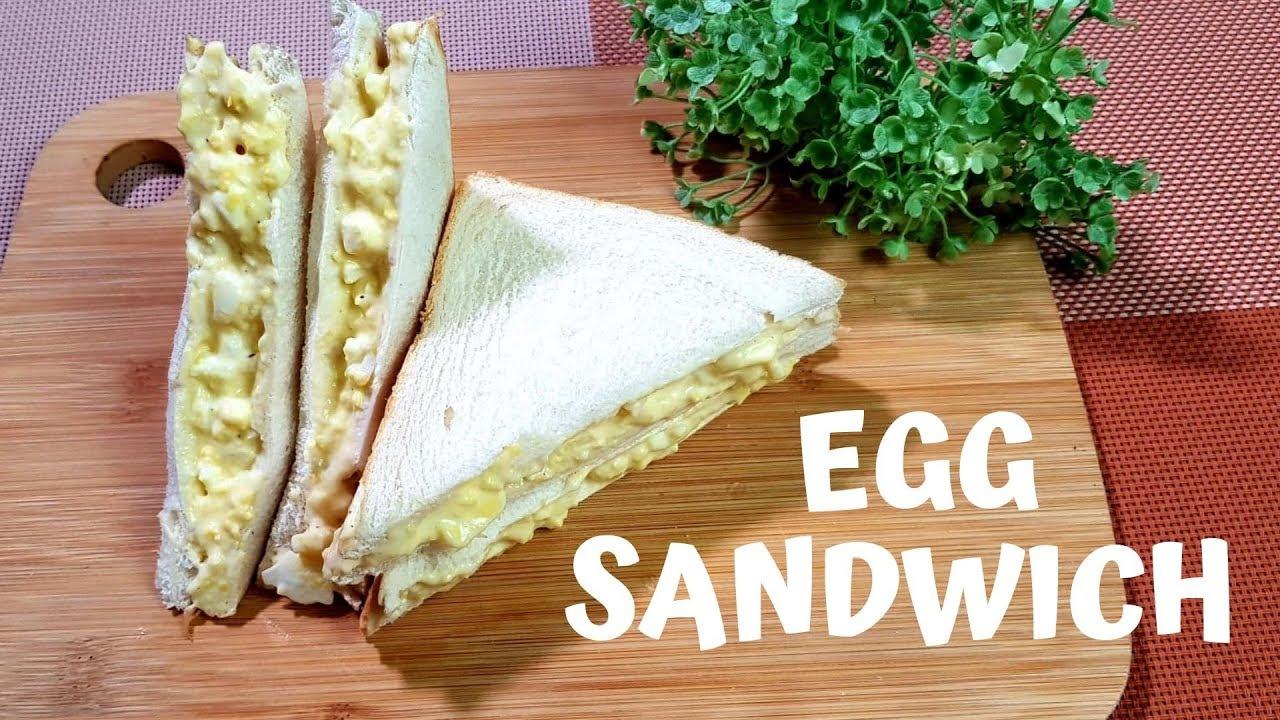 How To Make Egg Sandwich At Home Easy Pinoy Merienda Recipes Friend Cheap Menu