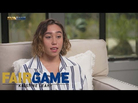 Katelyn Ohashi on being body shamed: 'My coaches used to body shame me.' | FAIR GAME