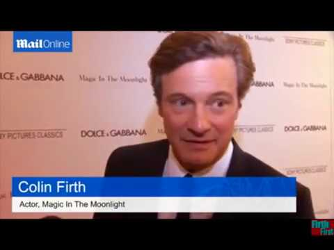 Colin FIRTH on working with Woody ALLEN in Magic In The Moonlight