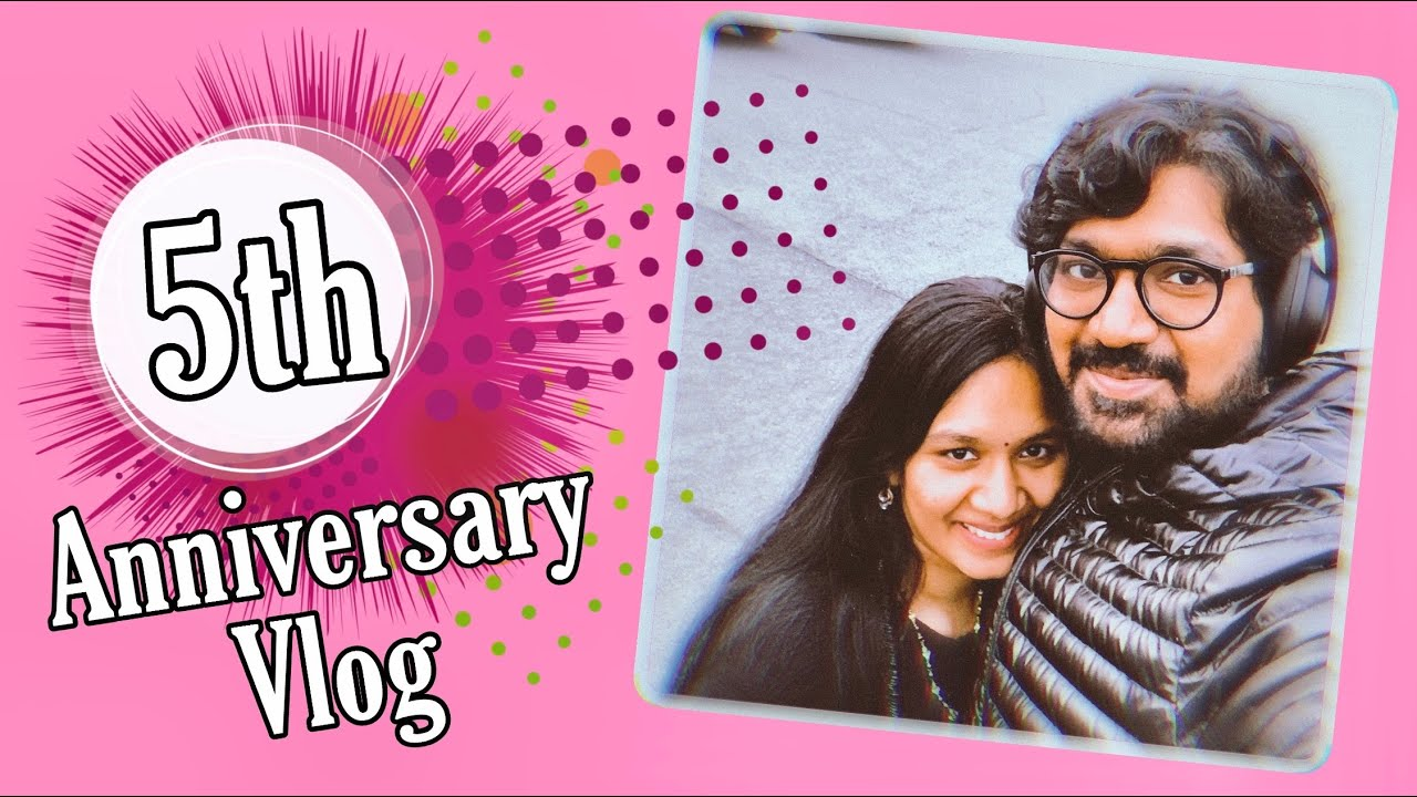 #Vlog |5 Years of Love, Joy & Excitement |Marriage Anniversary |Gift from Husband | Telugu Vlogs USA