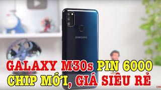 Trên tay Samsung Galaxy M30s PIN 6000 ĐẦU TIÊN Ở VIỆT NAM