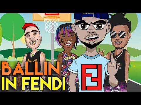 BALLIN IN FENDI - REGGIE MILLS feat SFERA EBBASTA & FAMOUS DEX (Reaction)