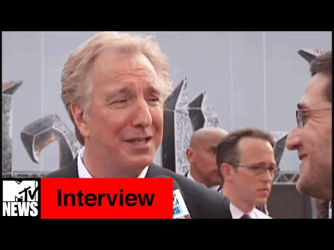 "Alan Rickman Wins ""The Harry Potter World Cup"" 