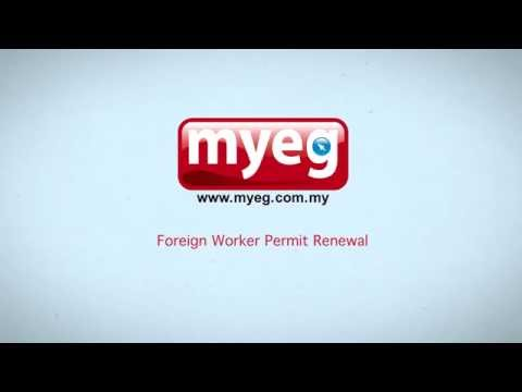 MyEG - Foreign Worker Permit PL(KS) Renewal