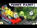 Thomas and Friends Toy Trains Funny Paint Game with the funny Funlings - Fun story for kids TT4U