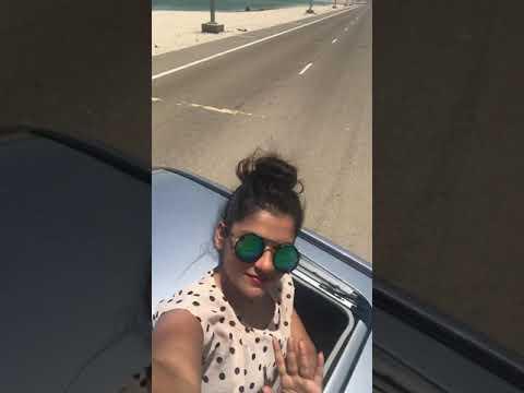 Drive at the adnoc beach in ruwais