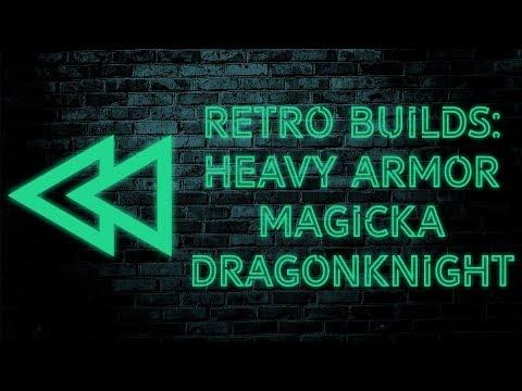 RETRO BUILDS EP. 1: Heavy Armor Magicka DK - The Elder Scrolls Online |