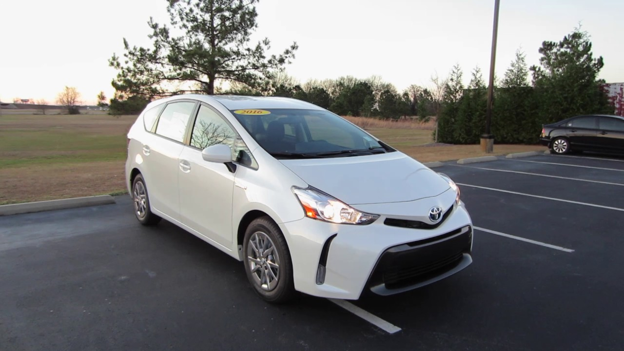 2016 toyota prius v three full tour start up at massey toyota youtube. Black Bedroom Furniture Sets. Home Design Ideas