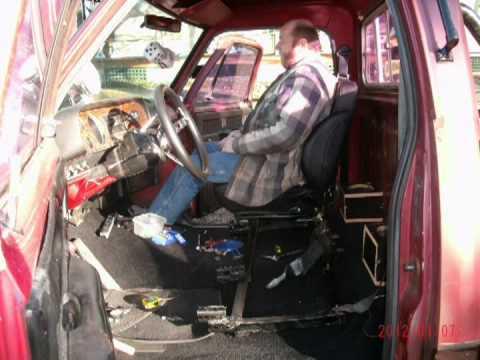 79 Dodge Installing Bucket Seats Youtube