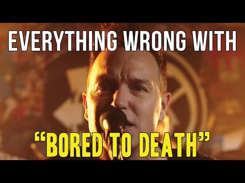 "Everything Wrong With Blink-182 - ""Bored To Death"""