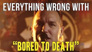 Everything Wrong With Blink-182 - bored To Death