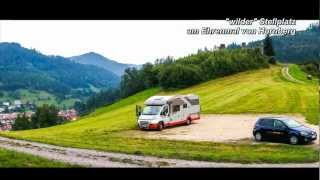 Wohnmobil Urlaub im Schwarzwald -- Reisebericht Fotoshow