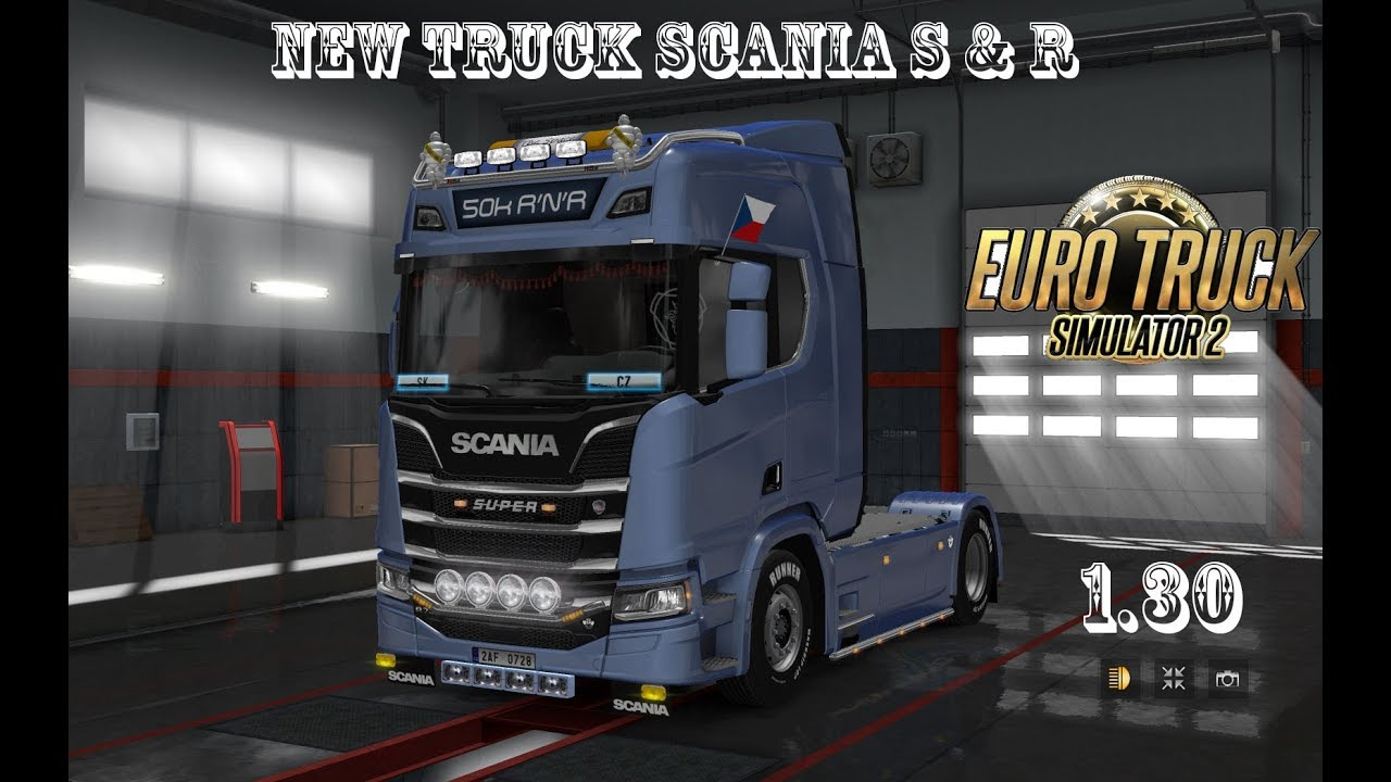 ets2 new truck scania s r tuning d ly youtube. Black Bedroom Furniture Sets. Home Design Ideas