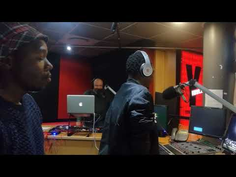 SOUTH AFRICAN RADIO STATION YFM 992  INTERVIEW & FREESTYLES WITH DJ ADMIRAL AFRICAN STORM SOUND SYS