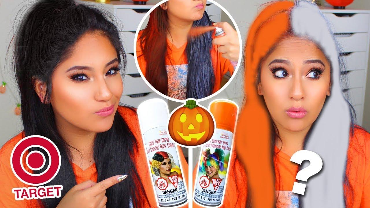 Does Target Color Hairspray Work On Dark Hair Youtube