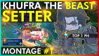 HUMBLE BEAST KHUFRA SETS! KHUFRA MONTAGE #1 BY THE TOP 1 PH, HONDA BEAST