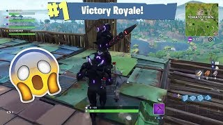 *EPIC* Bounce Pad Roller coaster in Fortnite Battle Royale