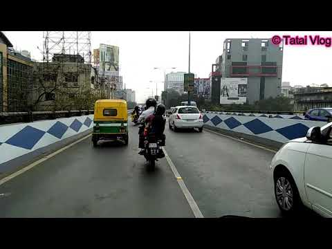 howrah to e m  bypass by bike 7 km long flyover
