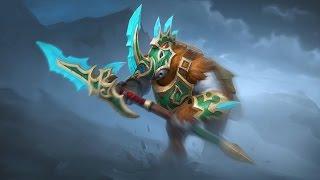 Dota 2  Azurite Warden(Magnus)