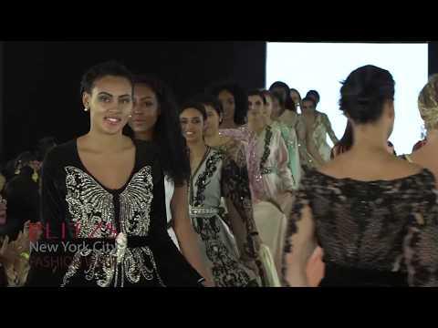 Caftan Skalli By Salima El Boussouni Casablanca Morocco at PLITZS New York City Fashion Week