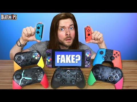 The FAKE $20 Nintendo Switch Controllers