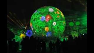 Лазерное шоу в Москве 2012