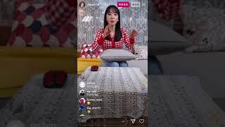 김지숙 레인보우 지숙 JiSook 's 200603 Instagram Live 02 With Chat Fit…