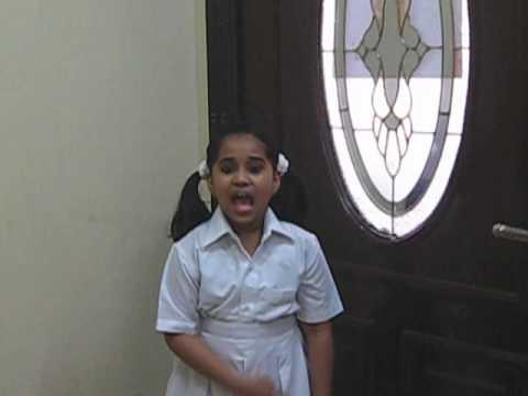 1st Prize   Hannah  Recitation   Class 3   Indian School Sohar