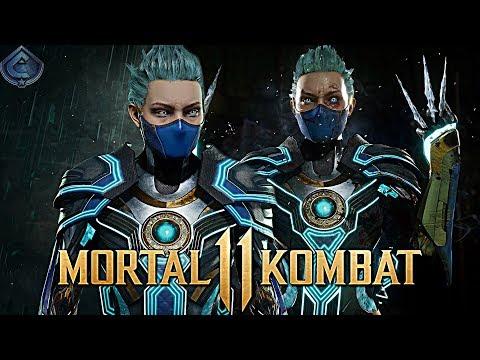 Mortal Kombat 11 Online - AWESOME NEON FROST GEAR!