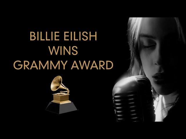 Billie Eilish wins Grammy for NO TIME TO DIE 🏆