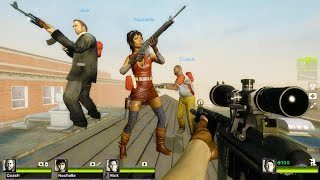 Left 4 Dead 2 - Dead High School Custom Campaign Gameplay Walkthrough