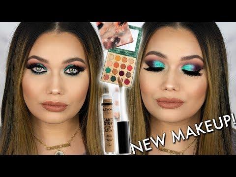 Testing New Makeup! Colourpop Makeup Tutorial   Through My Eyes