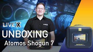 Unboxing: Atomos Shogun 7