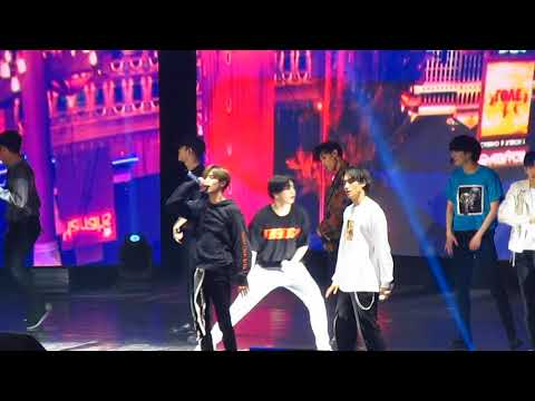 180717 Never Ever - GOT7   Eyes On You tour in Chile