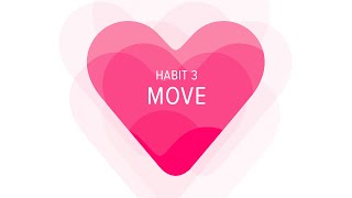 Heart Habit 3:  Move