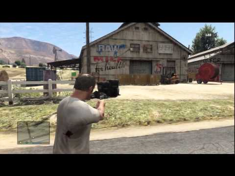 Grand Theft Auto V Gameplay: Destroying The O'Neil Brother's Meth Lab