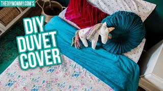 How to Sew a DIY Duvet Cover