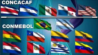 CONCACAF Jugando en CONMEBOL