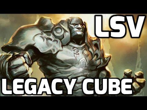 LSV Streams a Legacy Cube Draft (Drafting)