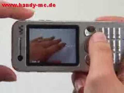 Sony-Ericsson W890i Kamera