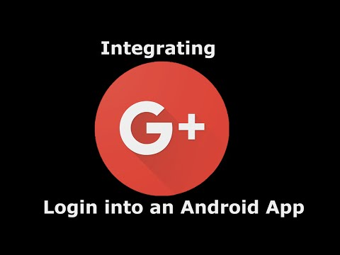 Integrating Google Plus Login in an Android Application 1