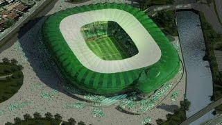 Turkish Süper Lig Stadiums 16/17