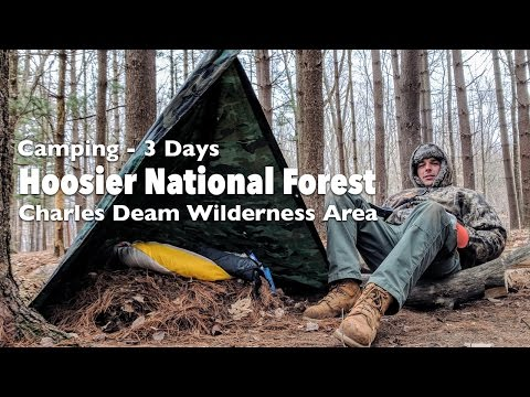 Camping 3 Days - Hoosier National Forest - Charles Deam Wilderness Area